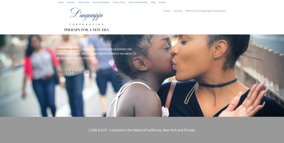 Website Building - L'Angniappe Corporation